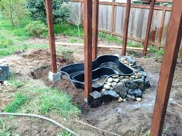 Backyard Duck Ponds And We Have Made Some Real Progress On The Duck Pond U2013 Home In
