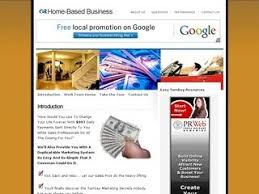 Home Based Business Website Design