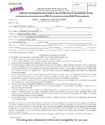 central catholic high physical and wvnssac eligibility form