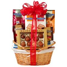 ghirardelli gift basket 15 best chocolates images on chocolate gifts rocher