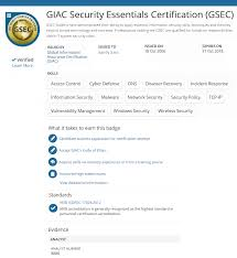 Achievements To Put On A Resume Giac Forensics Management Information It Security Certifications