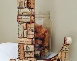 wine cork crafts etsy