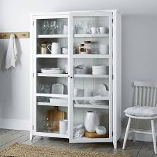 glass display cabinet the white company uk home furniture