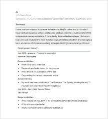 Writers Resume Sample by Download Writer Resume Haadyaooverbayresort Com