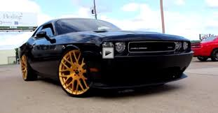 dodge challenger srt8 black rims dodge challenger srt8 on forgiatos 24 cars