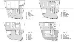 modern split level house plans floor plans terrace split level house philadelphia design house