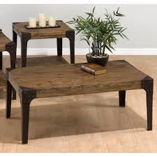 rustic wood side table furniture endearing image of rustic square 2 tier solid reclaimed