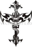 tattoo cross dragon best tattoo celebrity cross tattoos with flames