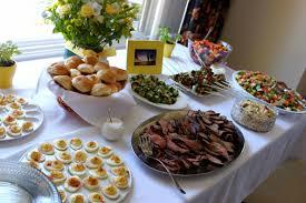 kitchen tea food ideas leslie sarna ideas bridal showers