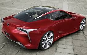 red lexus 2015 lexus lf lc concept to become production reality by 2015 photos