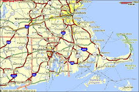 road map massachusetts usa route 6a the highway sandwich all you need to cape cod