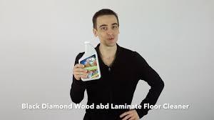 Murphy Oil Soap On Laminate Floors Black Diamond Wood And Laminate Floor Cleaner Youtube