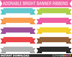ribbon sale 80 sale clipart banner ribbons digital scrapbook