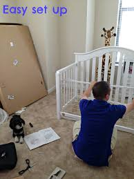 Convertible Crib Instructions by Finishing The Nursery With The Fisher Price Kingsport Convertible
