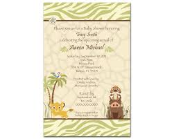 michael baby shower decorations disney lion king baby shower invitations baby shower invitation