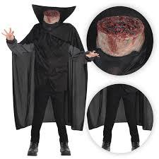 headless horseman costume mens headless horseman beheaded bloody axe horror fancy