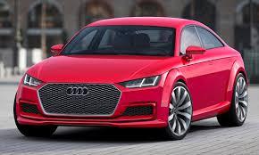 kereta audi audi perkenal model konsep tt sportback arena permotoran