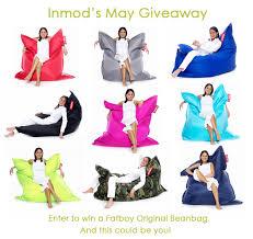 may giveaway at inmod win a fatboy original beanbag inmod style