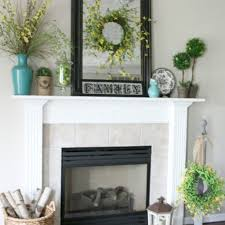 tips to make fireplace mantel decor for a wedding day