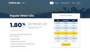 best 2 year cd rate in the country now offered by popular direct