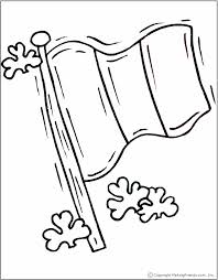 irish flag coloring page print multiple copies for girls to color