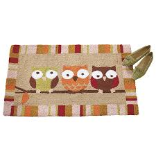 welcome committee owls rug furniture home decor and home