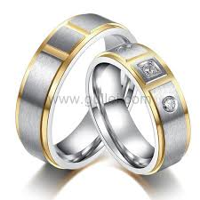 wedding band names men and women titanium wedding rings set with name personalized