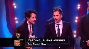 best sketch show cardinal burns british comedy awards 2012