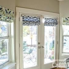 Window Treatments For Patio Doors Window Treatments For Doors Real Log Homes Door