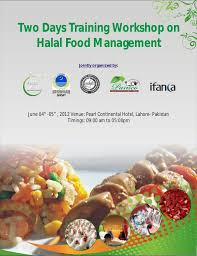 exemple am agement cuisine 2 days workshop on halal food management pearl continental h