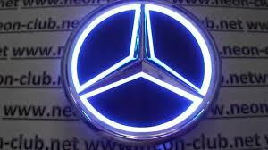 mercedes logo benz cars light mercedes emblem and badge ebay mercedes led