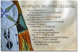 wedding blessing apache wedding blessing grraphics