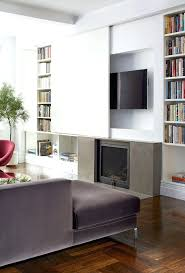 full image for black modern tv stand wall mounted shelf ideas