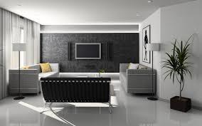 Contemporary Wallpaper Magnificent 10 Black And Grey Living Room Wallpaper Design Ideas