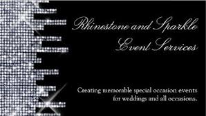 Event Business Cards Glamourous Glitz And Glitter Business Cards Page 2 Girly