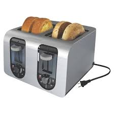 Sunbeam 4 Slice Toaster Review Black Decker 4 Slice Toaster Stainless Steel Target