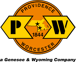 Wyoming travel logos images Genesee wyoming debuts new providence worcester logo trains jpg