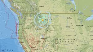 Idaho Montana Map by Montana Earthquake At 5 8 Magnitude Shakes Washington Idaho