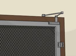 How To Frame A Door Opening by How To Install A Screen Door 12 Steps With Pictures Wikihow