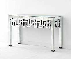 Mirror Console Table Psara Mirrored Console Table By Cyan Design