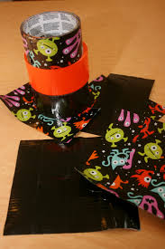 halloween duct tape finding bonggamom how to make a halloween treat bag from duct tape
