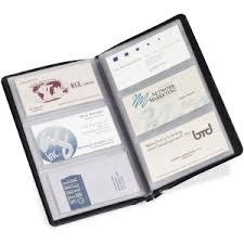Business Card File Cardinal 751610 Cardinal Business Basics Sealed Vinyl 72 Card