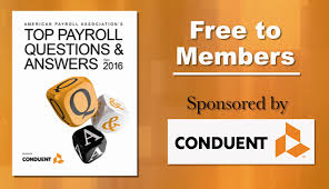 american payroll association professional free ebooks
