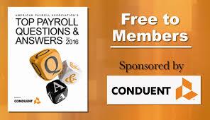 american payroll association professional free ebooks