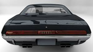 Dodge Challenger Models - 3d asset 1971 dodge challenger r t cgtrader
