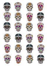 sugar skull cake topper skull cake decorations ebay