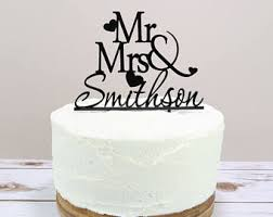 mr and mrs wedding cake toppers wedding cake toppers etsy uk