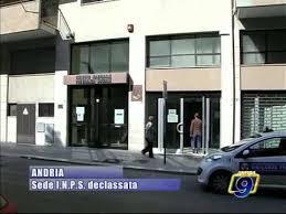 sede inps andria andria sede inps declassata