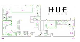Lounge Floor Plan Nye 2017 Premium Hosted Open Bar At Hue Lounge U0026 Nightclub Tickets