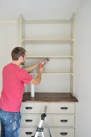 Cost Of Built In Bookcases Installing Bedroom Built Ins Young House Love